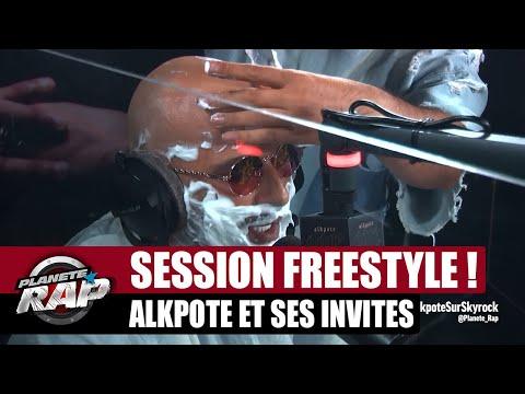 Youtube: Rasage & freestyle avec Alkpote, Luv Resval, Savage Toddy et Inso Le Véritable! #PlanèteRap