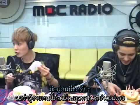 [Thaisub]130905 EXO Kris, Lay @ MBC Shimshimtapa clip3