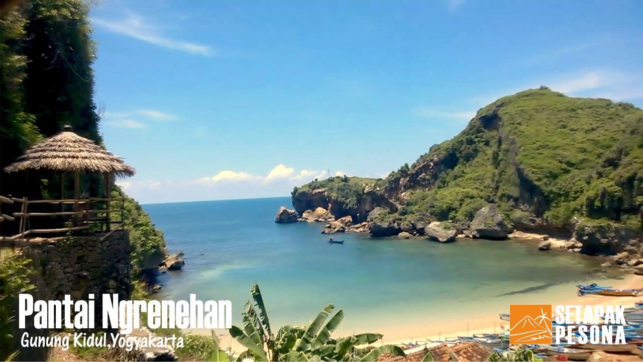Menelusuri Keindahan Pantai Ngrenehan Gunung Kidul Yogyakarta
