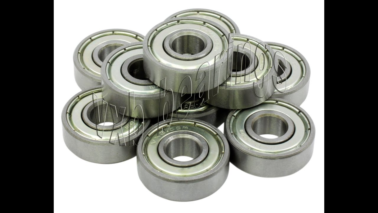 6008-ZZ Shielded Radial Ball Bearing 40X68X15 10 pack