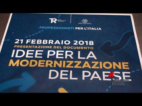 Professionisti per l'Italia, ecco idee per modernizzare Paese ...