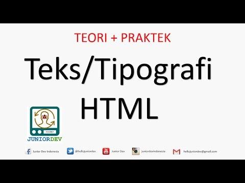Fungsi Tag Div Dan Span Pada Layout Html Tutorial Html Part 9 Youtube