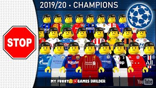 Champions League Stop COVID 19 pandemic Lego Football UCL Goals Collection Film