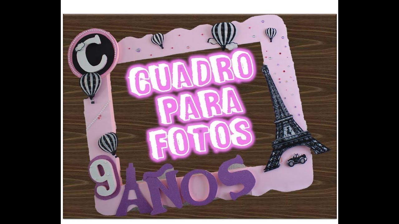 Cuadro para selfies Paris / Marco de fotos para fiesta - YouTube