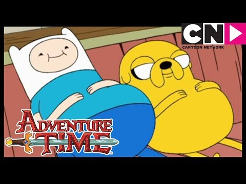 Adventure Time   Finn and Jake Get Fat   Cartoon Network