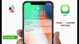 «TONE» - IPHONE official ringtone / «3 NOTES» Sonnerie IPHONE officiel
