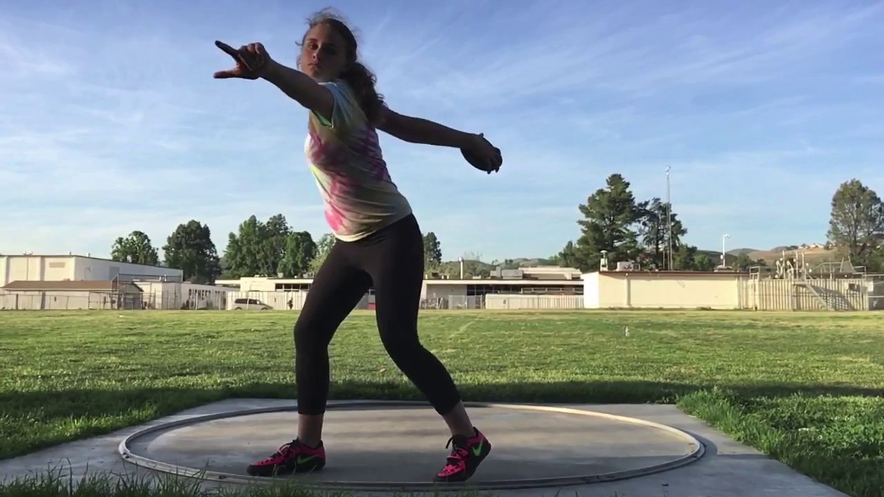 pics How to Throw a Discus