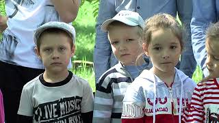 Поиски останков в парке посёлка Горького.
