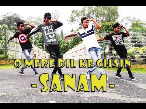 O MERE DIL KE CHAIN-SANAM PURI | DANCE...