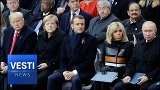 Macron Upstaged! Focus of World NOT on WWI Ceremony, But on Trump and Putin Meeting
