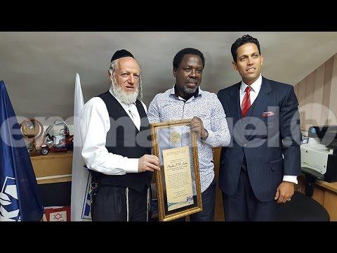 SCOAN 21/08/16: TB Joshua Historic Visit To Israel and Bethlehem