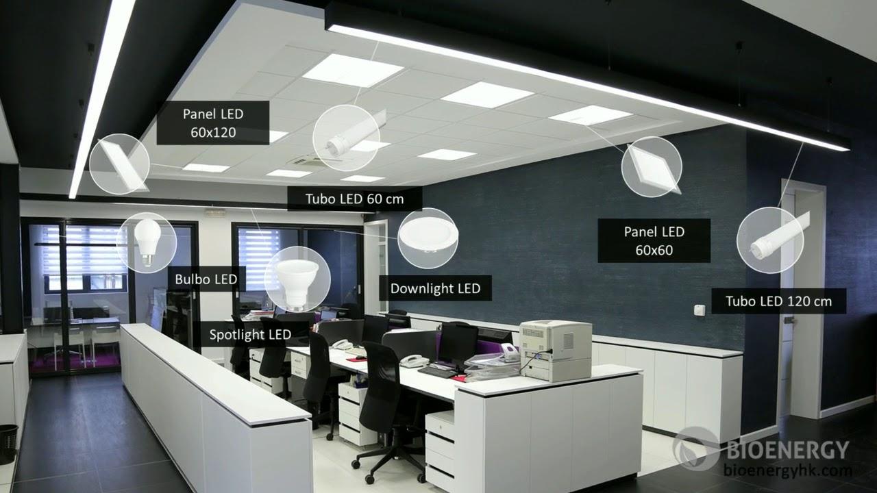 Iluminación LED Para Espacios Interiores
