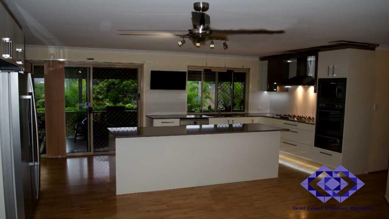 Time Lapse - Gold Coast Creative Kitchens - Robina Reno 2013 - YouTube