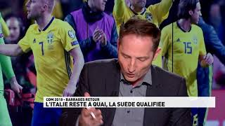 Qualifications Coupe du Monde 2018 - Italie / Suède