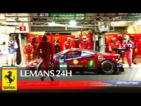 24H Le Mans This Was 2017 LEMANS24 For Ferrari Teams & Crews