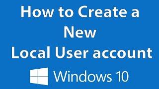 كيفية إنشاء حساب المستخدم المحلي - ويندوز 10