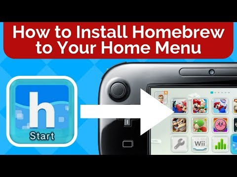How to Install Homebrew to Your Wii U Home Menu
