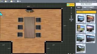 AV Planners 3D Room Designer
