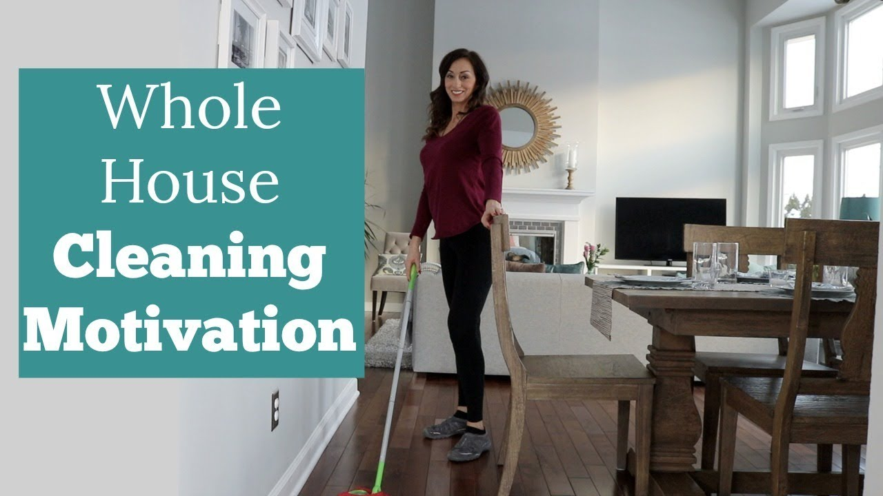 Clean My Entire House With Me Whole Cleaning Motivation