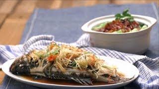 【梅香鹹魚蒸鱸魚 臘味雙拼飯】鱸魚要蒸著吃才鮮
