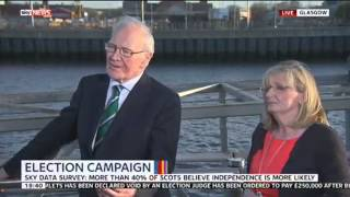 Menzies Campbell and Margaret Curran discuss the vote in Scotland