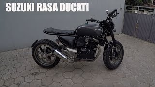 MotoVLog - Suzuki Inazuma 250 Custom Urban Tracker Dari Papua