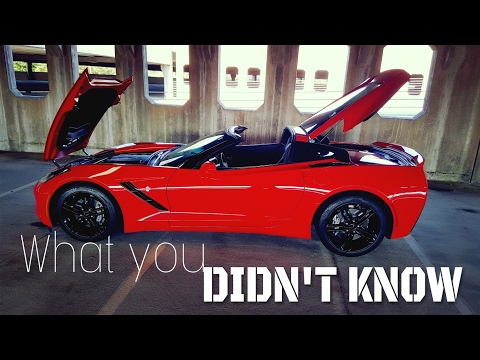 5 Things You Didn't Know About the C7 Corvette Stingray!