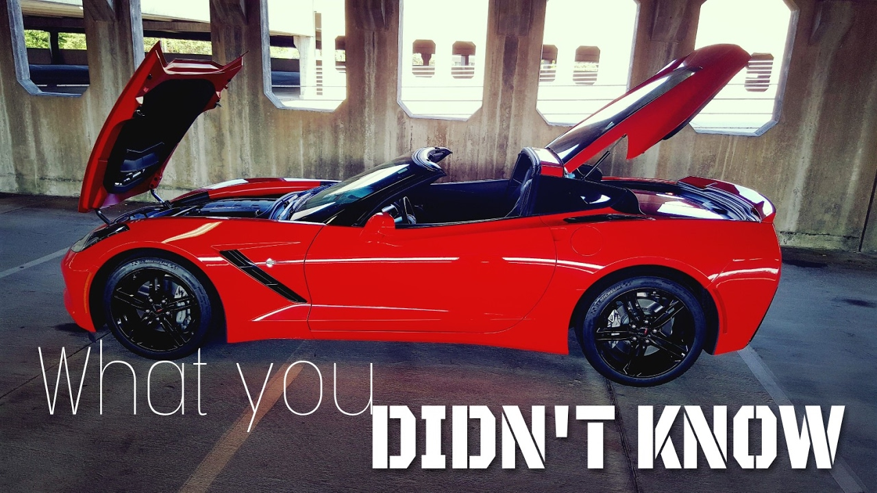 5 Things You Didn T Know About The C7 Corvette Stingray
