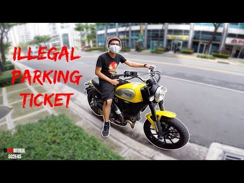 AVOIDING GETTING TICKET WHILE ILLEGALLY PARK IN BGC | SCRAMBLER RIDING IN PHILIPPINE TRAFFIC | 45