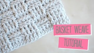 Repeat youtube video CROCHET: Basket weave tutorial | Bella Coco
