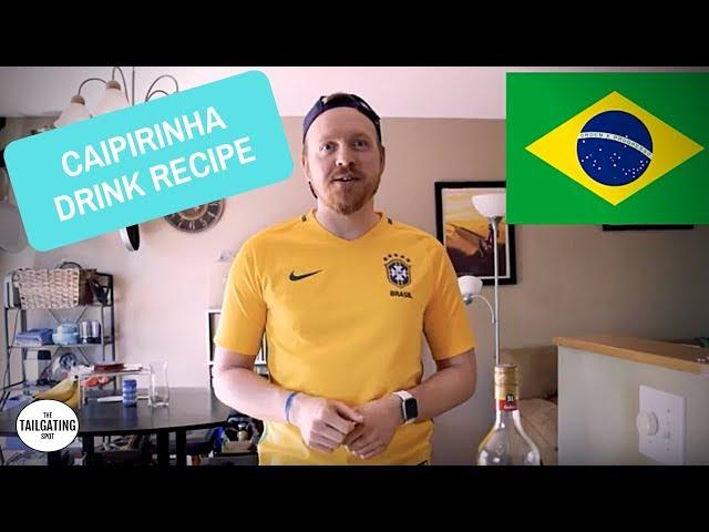 Tailgating Drinks | Caipirinha | Watch the Gringo Struggle With Portuguese!