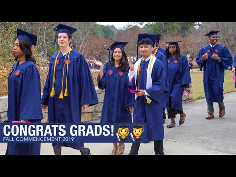 Clayton State University -  Congrats class of 2019! [Fall Commencement]