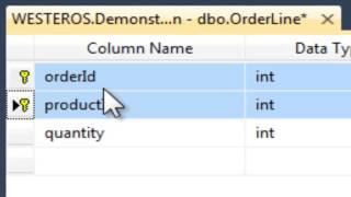 Creating Primary and Foreign Keys in SQL Server 2012
