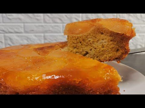 gâteau-aux-pommes-caramélisées-|recette-délicieuse🍰🍏