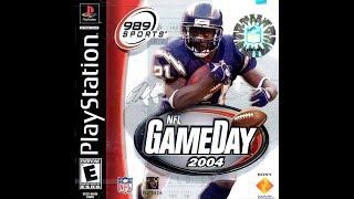 NFL GameDay 2004 (PlayStation) - Dallas Cowboys vs. Miami Dolphins