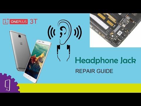 OnePlus 3T Headphone Jack Repair Guide
