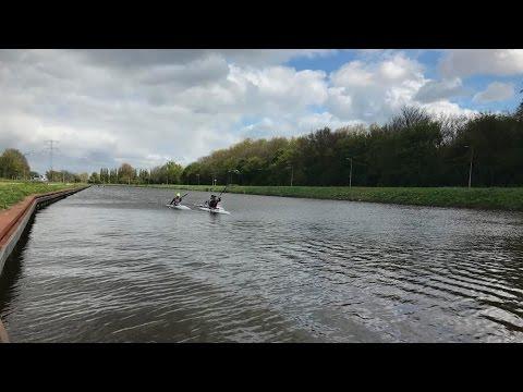 De Amsterdam Waterland Marathon in de kano 2017