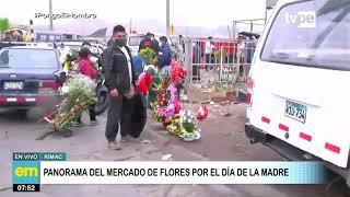Demanda en el mercado de Flores por el día de la madre