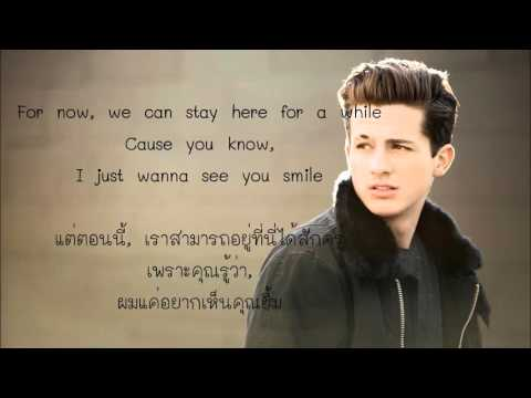 Charlie Puth - One Call Away แปลไทย