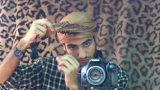 How to tie Yamani Turban | Surban with Shemag  Kefiya | Ghotra headscarf Tutorial | Amaan Ullah