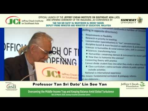 JCI Conference - Panel 3: Professor Tan Sri Dato' Dr Lin See-Yan