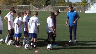 Soccer Training - Shooting Drills 2