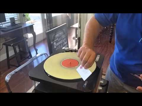 Cleaning Old Vinyl Records with Wood Glue by Eric G. Meeks 7.26.2015