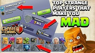 Top 2 strange player you can't believe they exist now Clash of clans -COC