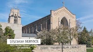 FPCD Sunday Service July 5th 2020
