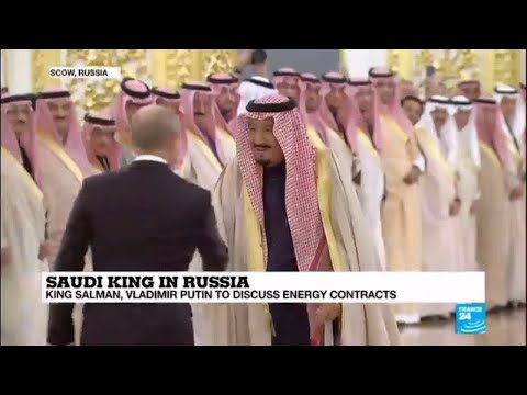 "Saudi King Salman meets Vladimir Putin in Russia: ""Oil is a giant factor here!"""