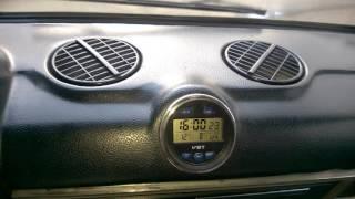 Часы в салон ВАЗ 2106 (классика), тюнинг часов, замена стоковых часов