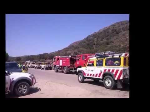 Incendio en Sierra de Gata. Un trabajo de José Manuel Robledo Vinagre para www.sierradegatadigital y Somos Sierra de Gata