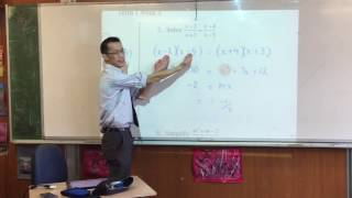 Preliminary Extension 1 Quiz (Algebraic Fractions, Factorisation)
