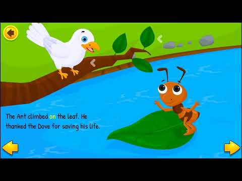 The Ant and The Dove // Best Short Stories for Kids in English